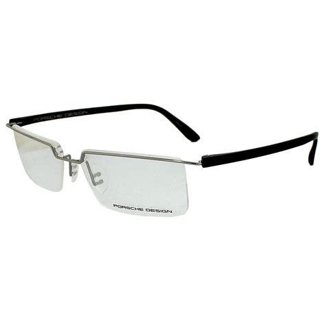 porsche design glasses frames p8227 d silver black ebay