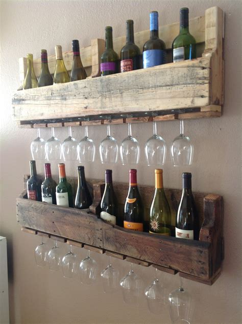 How To Hang Pallet Wine Rack by Spice Up Your Basement Bar 17 Ideas For A Beautiful Bar Space