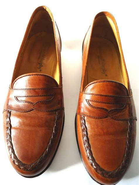 johnson and murphy shoes johnson and murphy s leather brown classic loafer