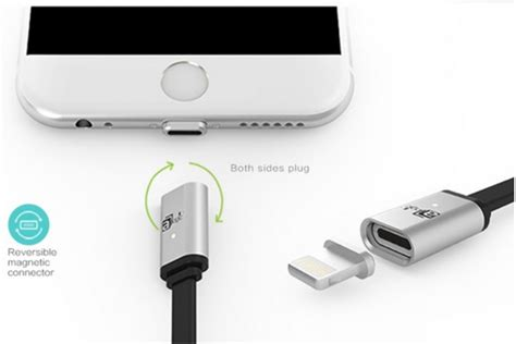 Kabel Charger Magnetic Lightning Iphone 5 6 6 Plus 7 7 Plus magcable magnetic lightning switch cable for iphone 5 6