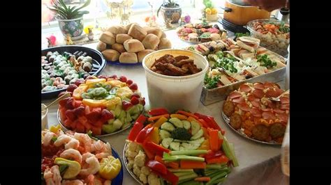 birthday catering ideas best food ideas for birthday