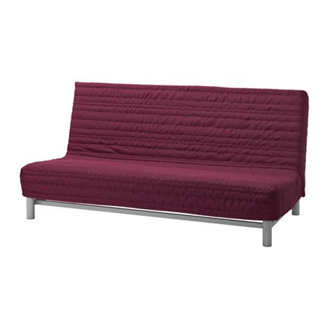 slipcover for futon beddinge sofa bed slipcover knisa cerise ikea