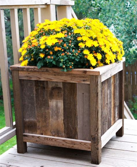 Planter Design by Free Wood Planter Designs Woodworking Projects Plans