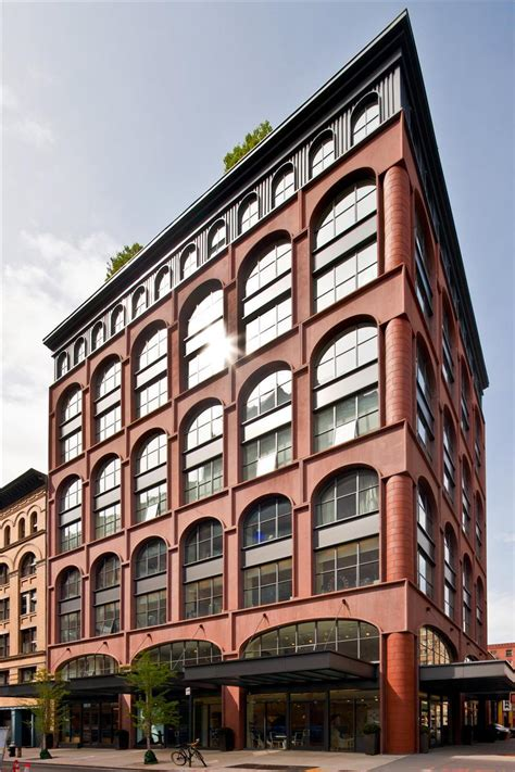 Industrial Modern House by Loft Building On Greenwich Street Tribeca Homedsgn