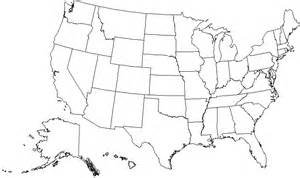 blank map of the united states of america name the 50 u s states in less than 5 minutes