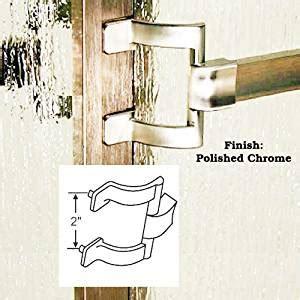 Shower Door Towel Bar Bracket Chrome Framed Sliding Shower Door Towel Bar And Brackets 30 Quot X 2 Quot Holes