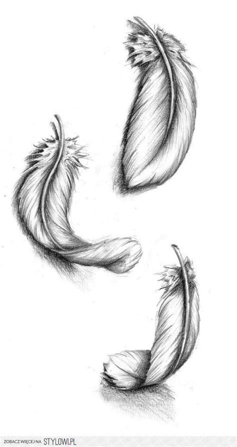 tattoo feather sketch falling feathers to bring my two tattoos together ink