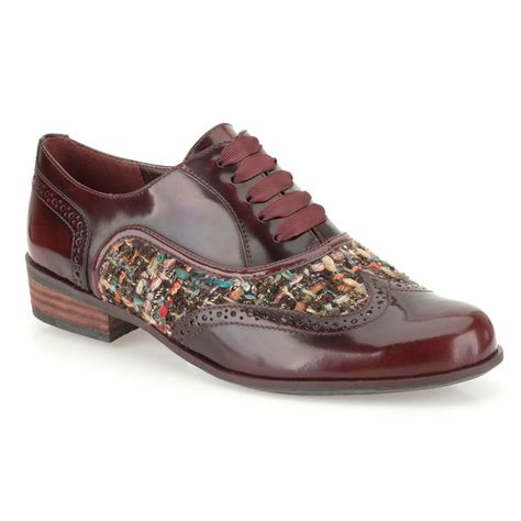 wide shoes for hamble oak oxblood casual wide fitting shoe