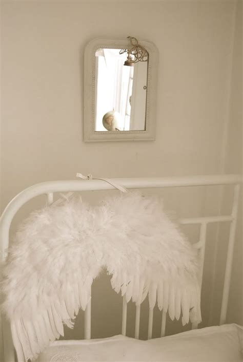 angel wings girls bedroom whitewashed chippy shabby chic