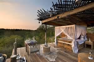 outdoor bedrooms the world s best outdoor hotel rooms revealed from a safari tree house to a tropical clifftop