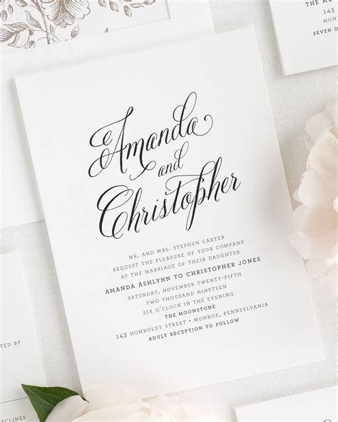 can you send wedding invitations 3 months in advance rustic modern wedding invitations wedding invitations by shine