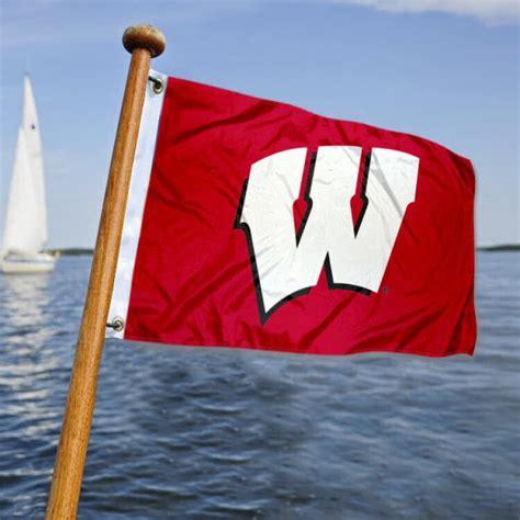 michigan state university boat flag wisconsin badgers boat flag and boat flags for wisconsin