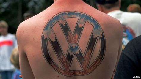tattoo vw logo why people get tattoos of their employer s logo bbc news
