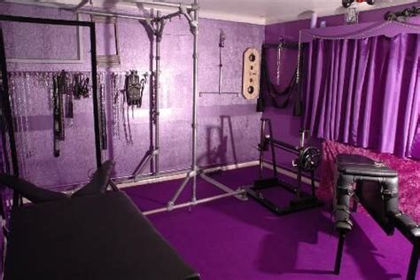 Kinky Bedroom Toys Rooms | wouldn t be complete without a purple sex dungeon for
