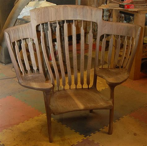 3 seat wooden rocking chair builds rocking chair so he could read to his 3