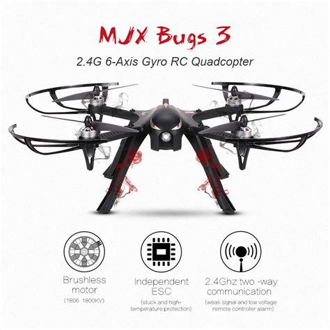 bug axis black us mjx bugs 3 2 4g 6 axis gyro brushless motor