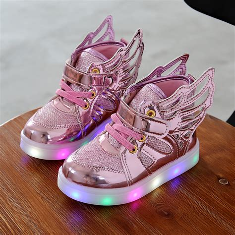 children shoes with light 2016 new children lighted shoes