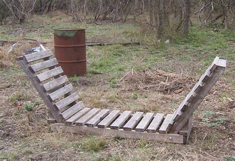 firewood storage diy great for pallets fire pit