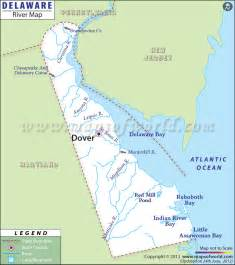 Delaware On Usa Map by Delaware Rivers Map Rivers In Delaware