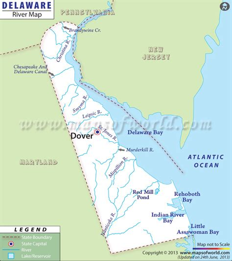 rivers map usa delaware rivers map rivers in delaware