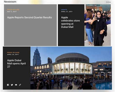 apple newsroom apple transforms pr site to a newsroom and redesigns