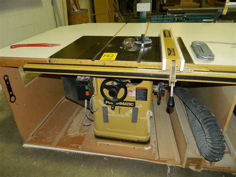 powermatic table saw model 66 powermatic table saw w accu fence model 66 ta saw460 s