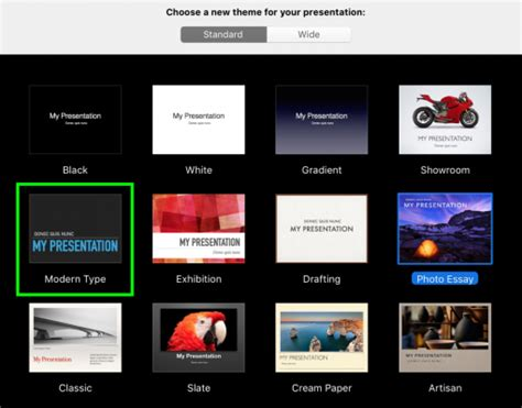 keynote wide themes how to change design themes in keynote