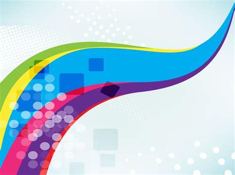 design backdrop reuni rainbow swoosh backdrop vector art graphics freevector com