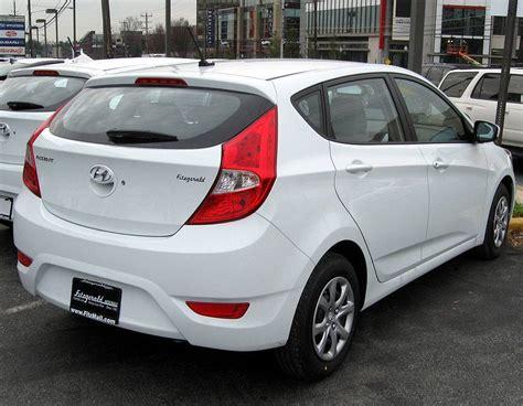 2012 Hyundai Accent Mpg by 2012 Hyundai Accent Gs 4dr Hatchback 1 6l Manual