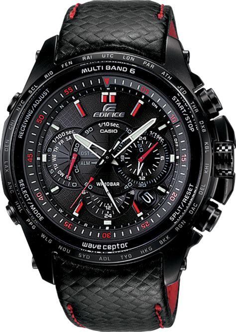 Jam Tangan Pria Merk Casio Edifice Ori Bm Type Ef 550 Baterai 12 edifice wave ceptor eqw m710 kulit hitam 187 jam tangan