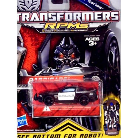 Metal Series hasbro transformers metal series barricade ford mustang