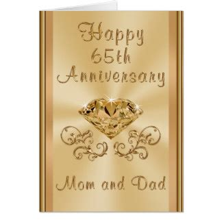 Zazzle Wedding Anniversary Cards by 65th Wedding Anniversary Cards Invitations Zazzle Co Uk