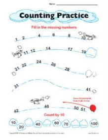counting worksheet number lines math worksheets