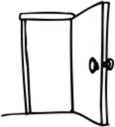 Open Closet Door Drawing open closet door drawing - image mag
