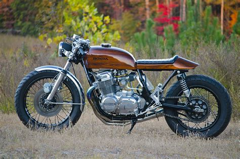 honda cb retaining retro woody honda cb750 return of the cafe