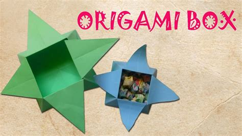 Origami 3d Box - how to make an origami box origami 3d gifts