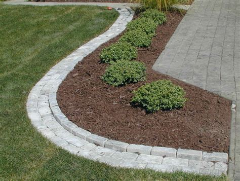 Paver Patio Edging Options Patio Paver Edging Lowes Home Design Ideas