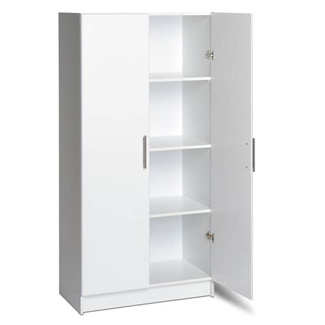 Armoire Storage Cabinets by Elite Storage Cabinet In White Wardrobe And Armoire Modgsi