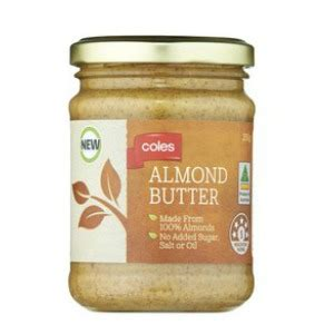 From The Supermarket Almond by The Grocery Coles Almond Butter
