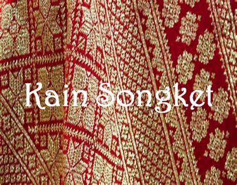 Kain Songket kain songket dan tenun silungkang macam dan jenis kain