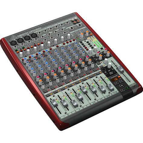 Mixer Di behringer xenyx ufx1204 mixer di piccolo formato a