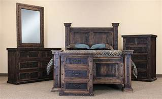 Mexican Rustic Bedroom Furniture - rustic bedroom set rustic bedroom furniture set wood bedroom set