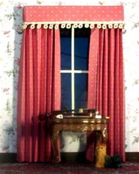 how to make curtains for dollhouse let s make some dollhouse curtains