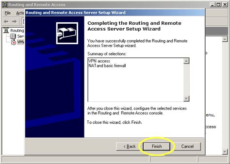 configure xp remote access windows server 2003 configure rras routing and remote