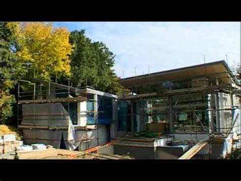 grand designs inverted roof house finished  expert