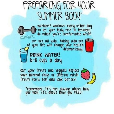 how to get a good summer body buzzfeed summer body via tumblr image 2640093 by maria d on