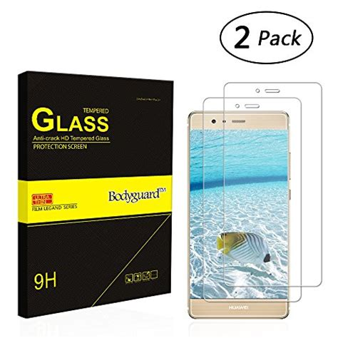 Tempered Glass Bodyguard Tempered Glass Screen Protector For Huawei P9 Lite Bodyguard 2 Pieces 3d Touch Compatible
