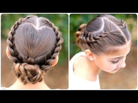 rope twist updo homecoming hairstyles cute girls learn how to create this rope twisted heart updo the link