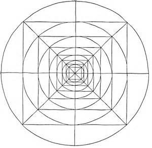 Mandala Vorlagenzum Ausmalen sketch template