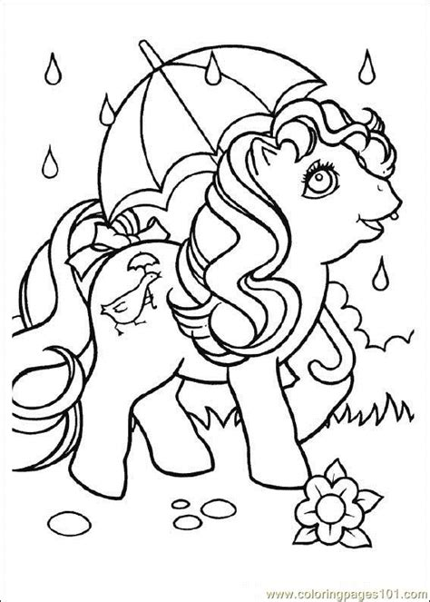 Coloring Pages My Little Pony Cartoons Gt My Little Pony Free Printable My Pony Coloring Pages